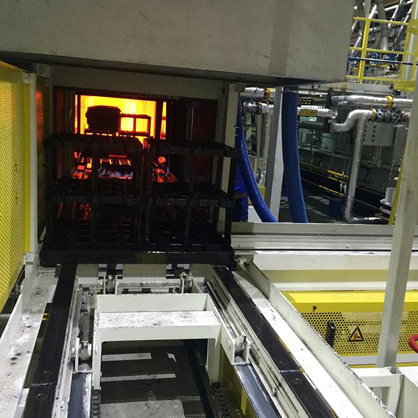 热处理炉温跟踪系统